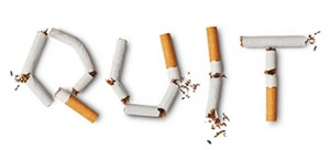 Smoking Cessation Quit Sign
